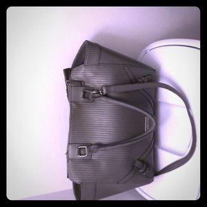 Steven Madden gray bag good condition!!!